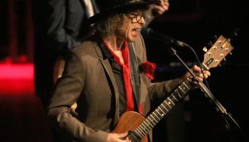 Mike Scott, lead with the Waterboys, performing in Concert at the Killarney Folkfest, INEC, Killarney