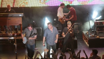 American Country & Western Sensations Rascal Flatts performing in concert at the INEC, Killarney