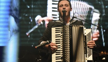 Nathan Carter - Best Male Country Entertainer at the South of Ireland Country Music Awards at the INEC KIllarney