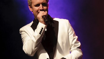Mike Denver - Best International Male Vocalist at the South of Ireland Country Music Awards at the INEC KIllarney