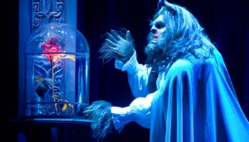 Beauty and The Beast The Musical performing at the INEC KIllarney