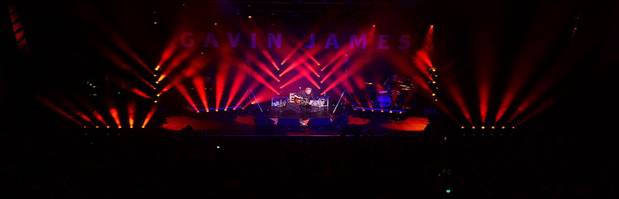 gavin james live at the inec