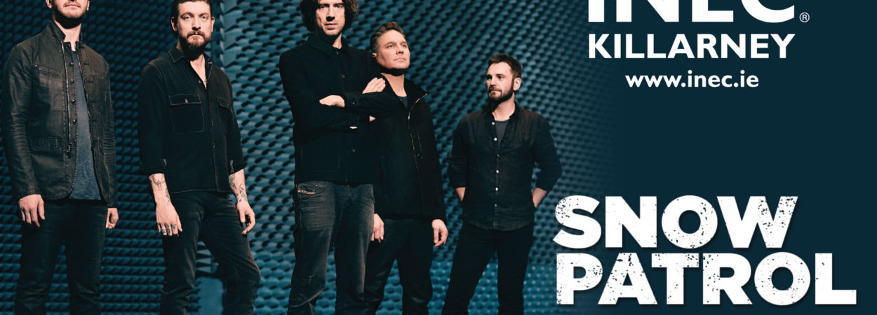 Snow Patrol have announced details of Irish tour dates including a show at The INEC Killarney on 14th May.
