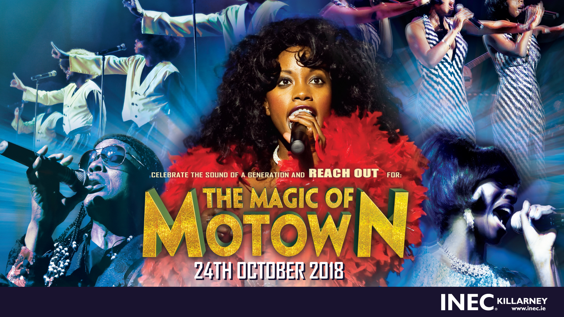 The Magic of Motown comes to the INEC Killarney on October 24th